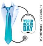 7 april world health day. | Shutterstock .eps vector #789650149