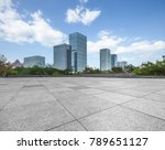 cityscape and skyline in blue... | Shutterstock . vector #789651127
