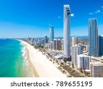 Surfers Paradise Aerial View O...