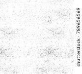 grunge black and white pattern. ... | Shutterstock . vector #789656569