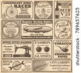 Vintage Newspaper Banners And...