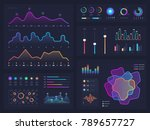 technology graphics and diagram ... | Shutterstock .eps vector #789657727