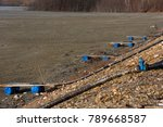 waste lake barrier.... | Shutterstock . vector #789668587