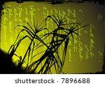 reed vector | Shutterstock .eps vector #7896688