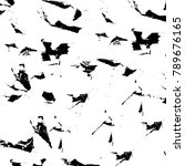 grungrunge black and white... | Shutterstock . vector #789676165
