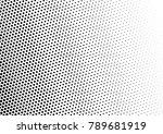 gradient halftone background.... | Shutterstock .eps vector #789681919