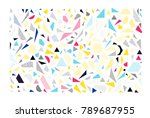 mega set of vector design... | Shutterstock .eps vector #789687955