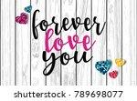 happy valentine's day vector...   Shutterstock .eps vector #789698077