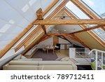 modern loft conversion | Shutterstock . vector #789712411