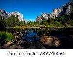 famous el capitan rock... | Shutterstock . vector #789740065