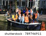 amsterdam  the netherlands  ... | Shutterstock . vector #789746911
