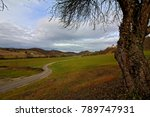 winding road through fields   Shutterstock . vector #789747931