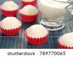 traditional brazilian chocolate ... | Shutterstock . vector #789770065