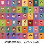 group people men and women...   Shutterstock .eps vector #789777631