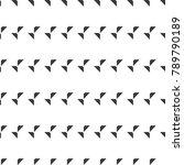 seamless geometric vector...   Shutterstock .eps vector #789790189