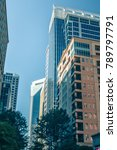 tall highrise buildings in... | Shutterstock . vector #789797791