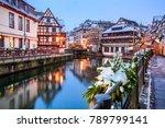 strasbourg  france. christmas... | Shutterstock . vector #789799141