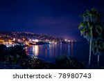 Beautiful Night Scene Of Lagun...