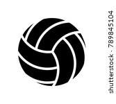 leisure   vollyball | Shutterstock .eps vector #789845104