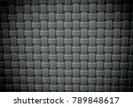 white woven wall background | Shutterstock . vector #789848617