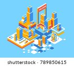 vector color illustration of... | Shutterstock .eps vector #789850615
