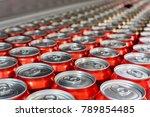 cover alumiunum cans. aluminum... | Shutterstock . vector #789854485