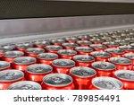 cover alumiunum cans. aluminum... | Shutterstock . vector #789854491
