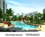 3d building   Shutterstock . vector #78986860