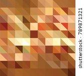 triangle vector background | Shutterstock .eps vector #789871321