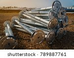 ground screw for mounting... | Shutterstock . vector #789887761