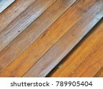 ruined wooden floor | Shutterstock . vector #789905404