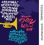 jazz improvisation festival... | Shutterstock .eps vector #789905551