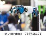 industry 4.0 robot concept .the ... | Shutterstock . vector #789916171