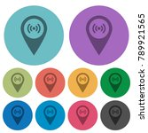free wifi hotspot darker flat... | Shutterstock .eps vector #789921565