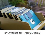 floppy disk outdated technology | Shutterstock . vector #789924589