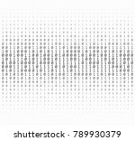 texture composed by a sequence... | Shutterstock .eps vector #789930379