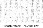 texture composed by a sequence... | Shutterstock .eps vector #789931129