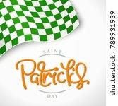 saint patrick's day. creative... | Shutterstock .eps vector #789931939