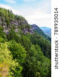 national park bohemian... | Shutterstock . vector #789935014