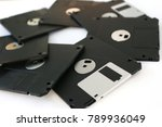 floppy disk outdated technology | Shutterstock . vector #789936049