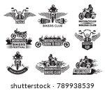 Motorbike Illustrations. Logos...
