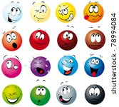 color balls with many... | Shutterstock .eps vector #78994084