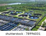 water recycling on sewage... | Shutterstock . vector #78996031