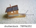 Snail With Solar Panels...