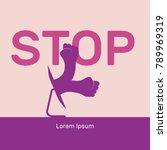 cyber bullying vector... | Shutterstock .eps vector #789969319