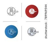 bobbin case icon. flat design ...   Shutterstock .eps vector #789969544
