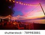 Blur The Lights On The Beach...