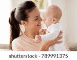 family  motherhood and people... | Shutterstock . vector #789991375