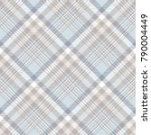 plaid check pattern in pale... | Shutterstock .eps vector #790004449