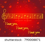 romantic greeting card for...